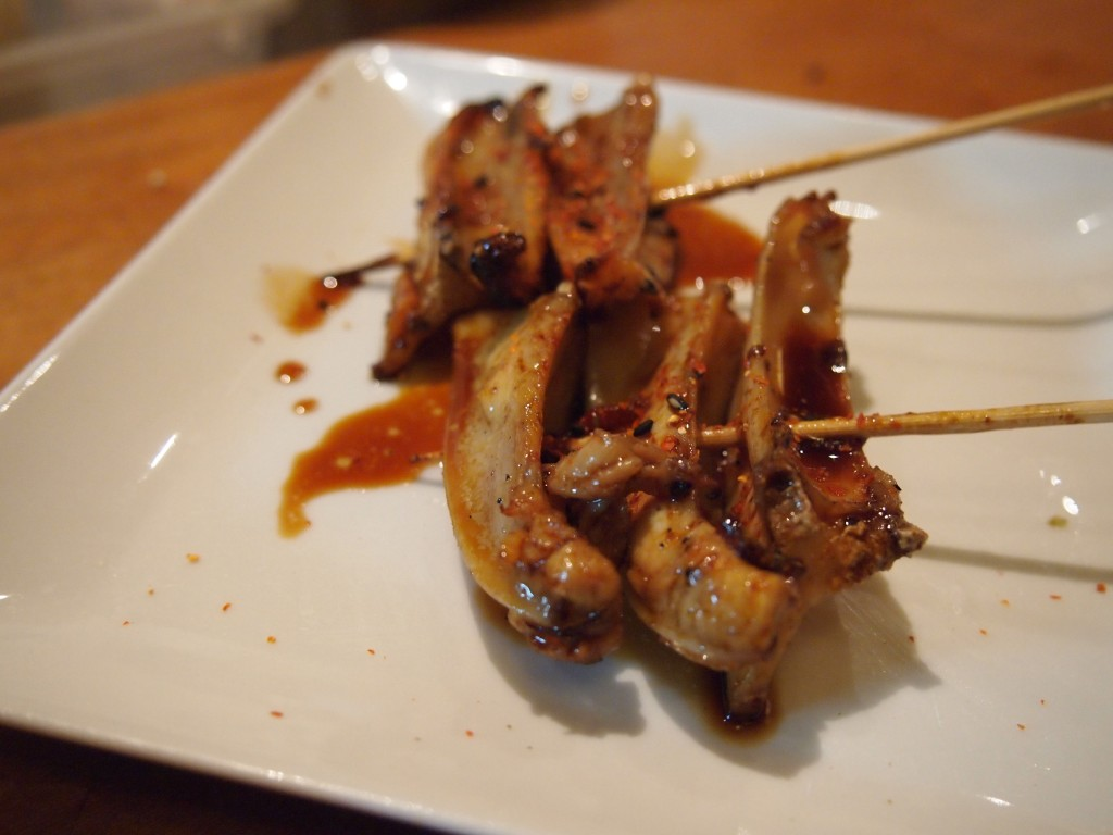 Grilled chicken cartilage