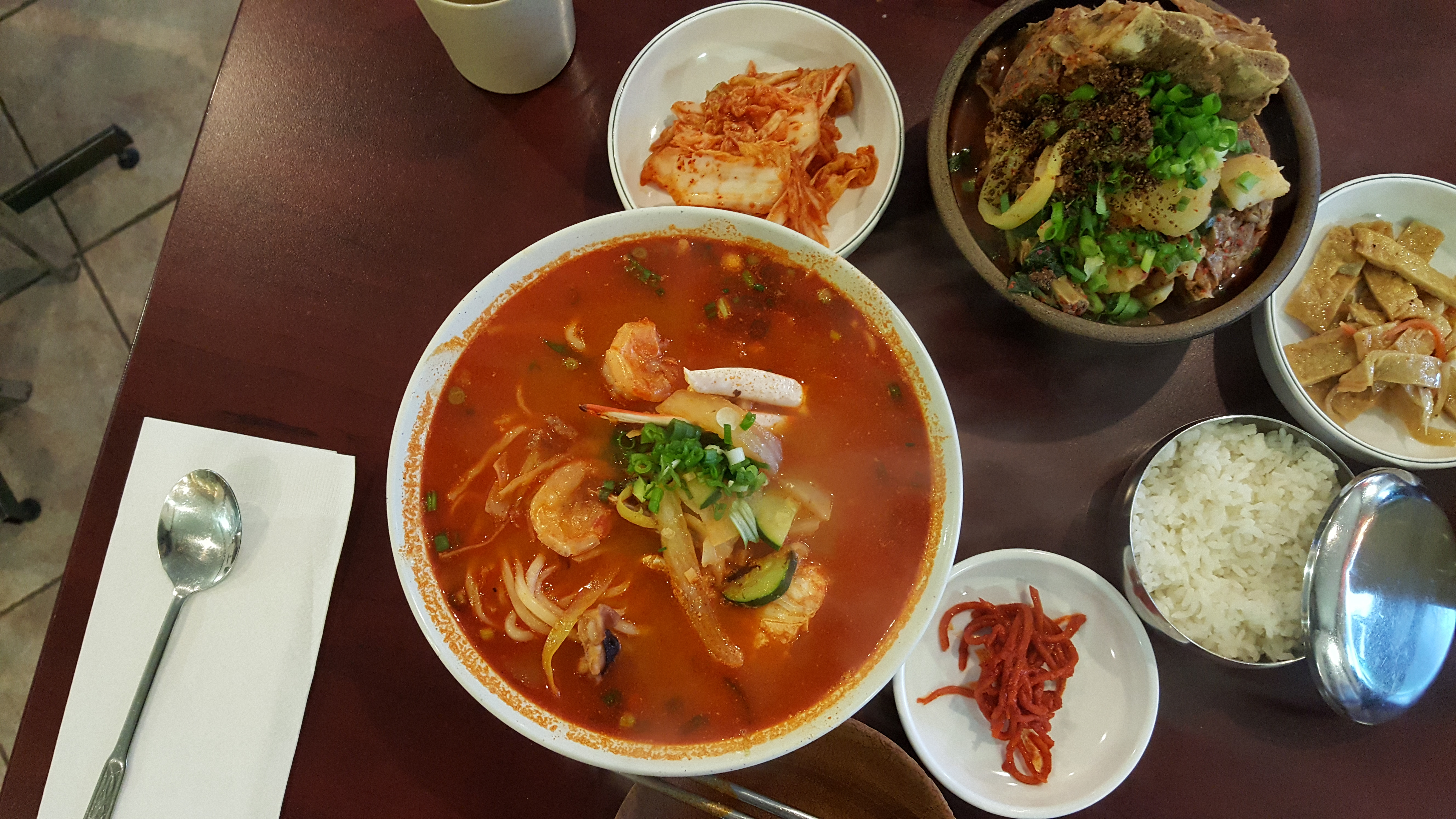 Chez Hwang – Best Pork Bone Soup?
