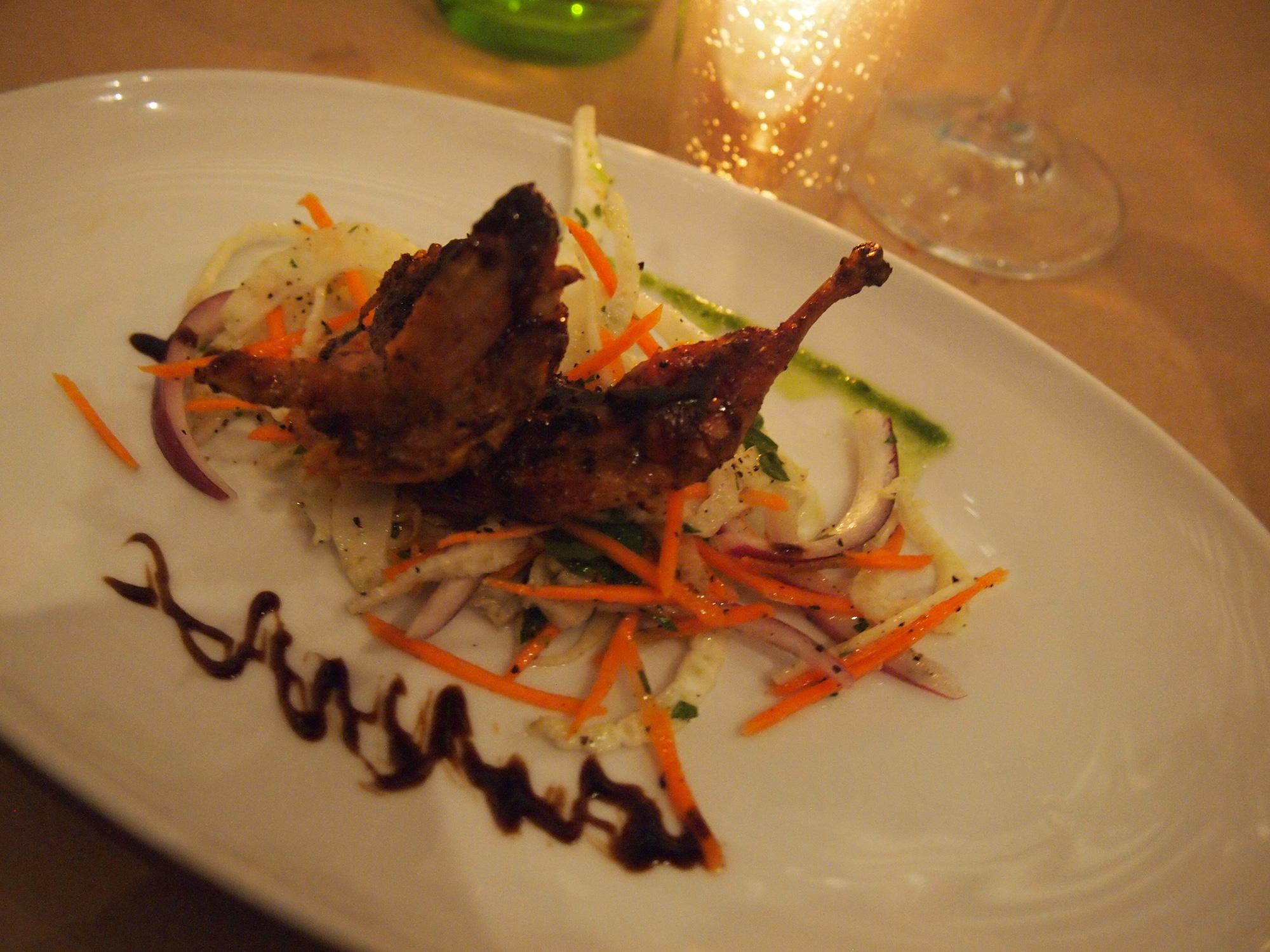 MKT – Italian seaside dining experience?